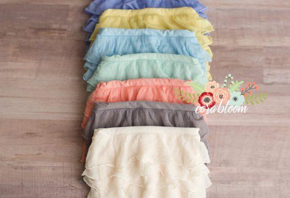 55. Newborn Ruffle Skirt 2