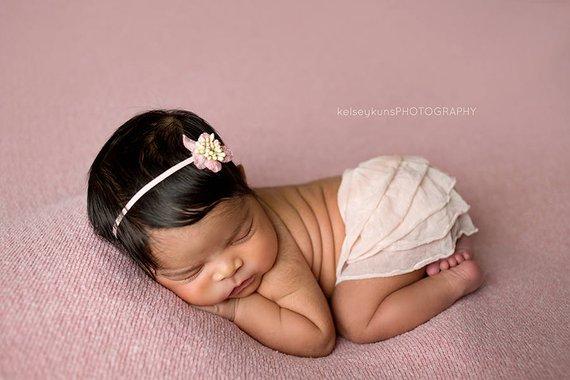 55. Newborn Ruffle Skirt 3
