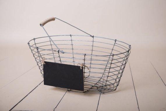 87. Newborn Metal Basket Prop 2