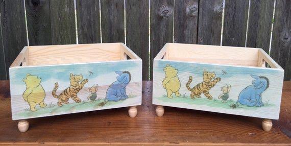 88. Newborn Winnie Pooh Box Prop 2