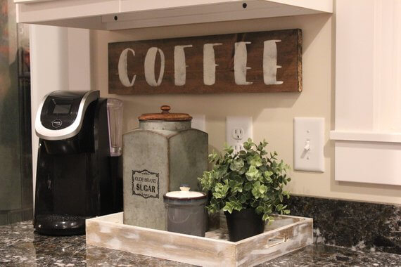 Coffee Station Idea 1