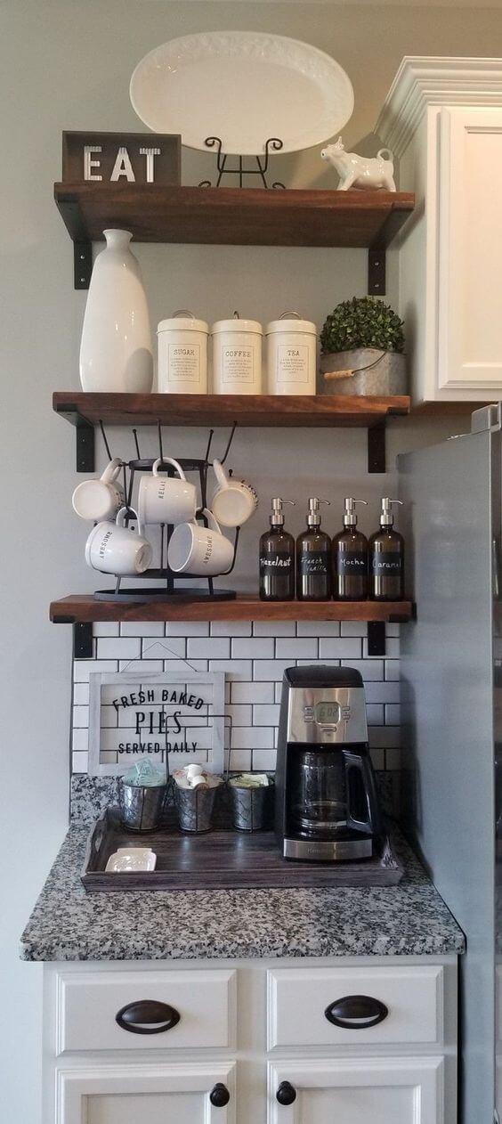 Coffee Station Idea 12