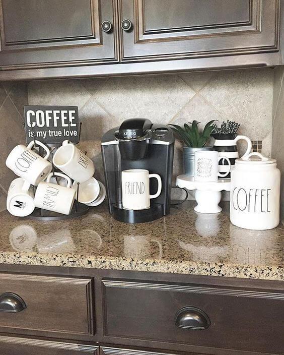 Coffee Station Idea 13