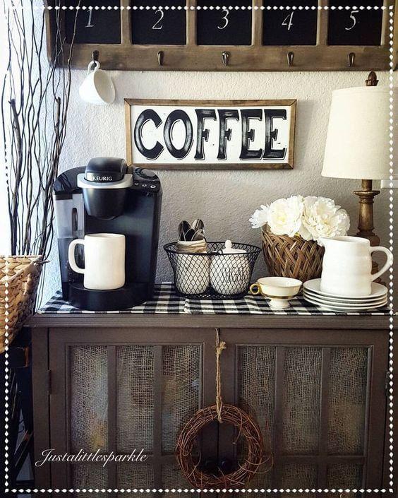 Coffee Station Idea 14