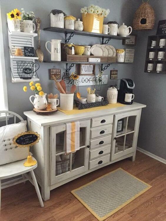 Coffee Station Idea 16