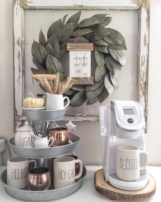 Coffee Station Idea 17