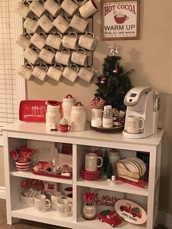 Coffee Station Idea 19