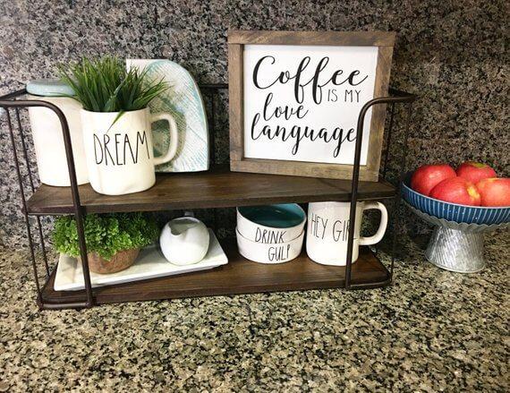 Coffee Station Idea 2