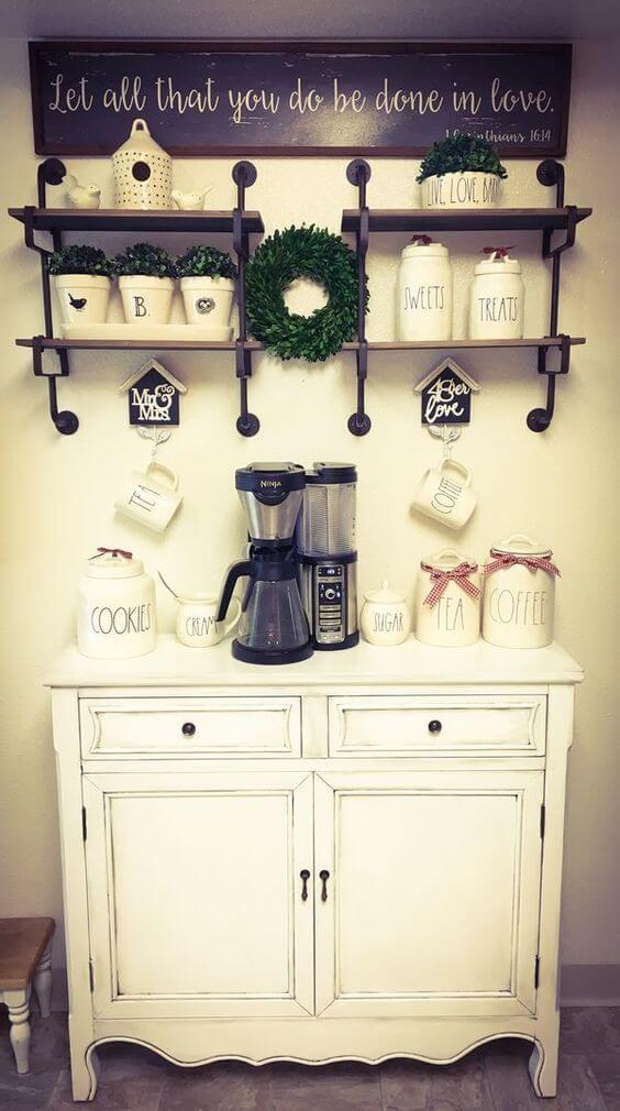 Coffee Station Idea 20