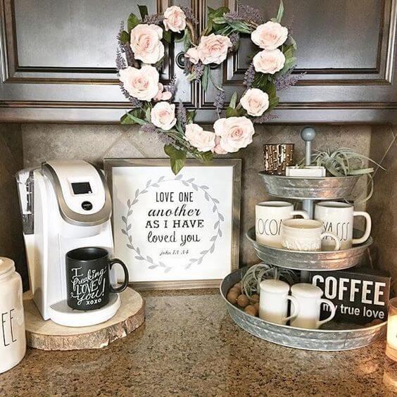 Coffee Station Idea 21