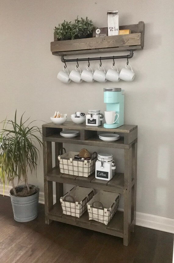 Coffee Station Idea 3