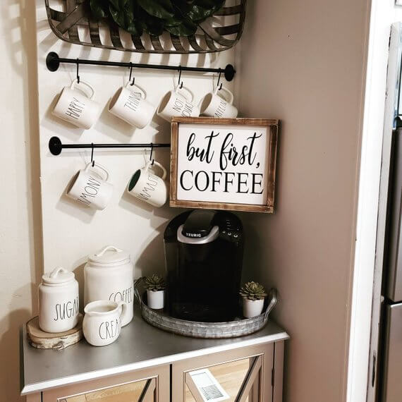 Coffee Station Idea 6