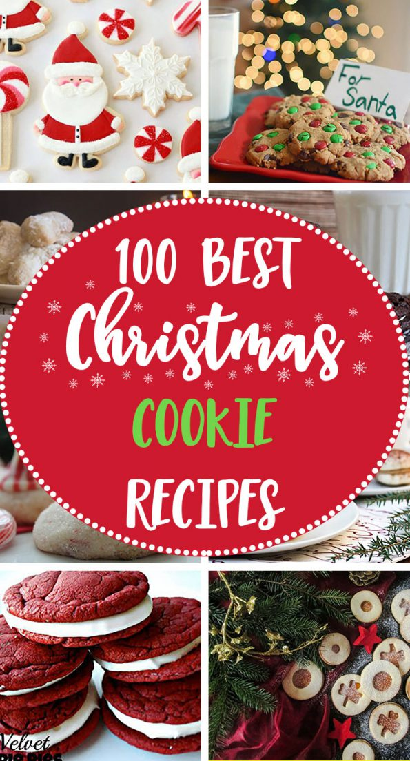 100 Best Christmas Cookie Recipes Pin
