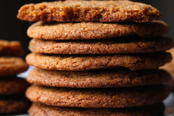 29. Gingersnap Cookies Christmas Recipe