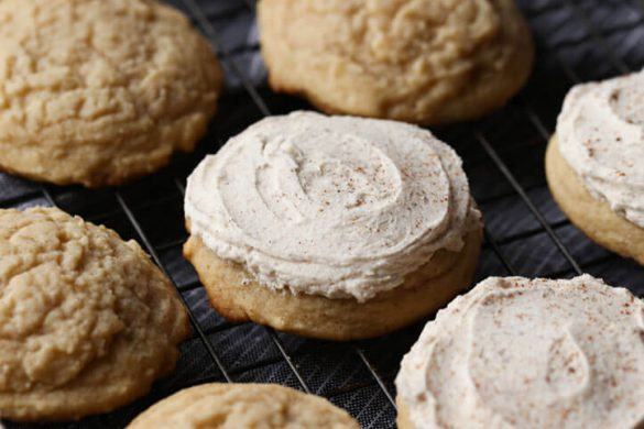 31. Frosted Eggnog Cookies Christmas Recipe