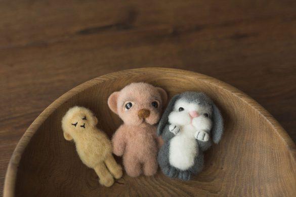 26. Newborn Felt Toys