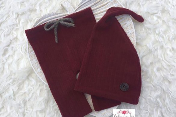 67. Newborn Pants And Hat Set