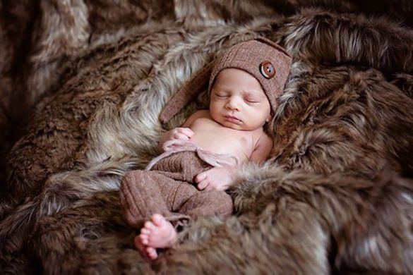 68. Newborn Pants And Hat Set2