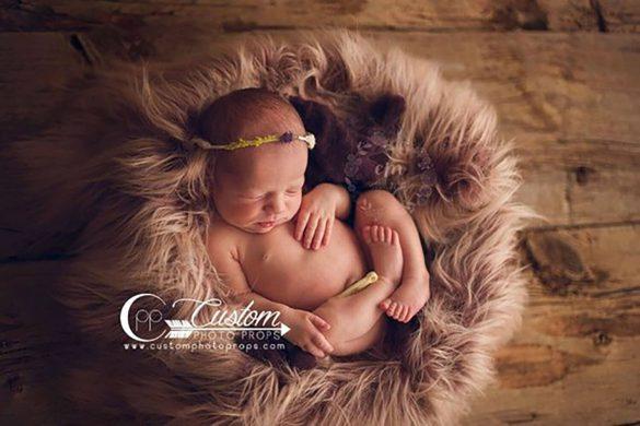 7.newborn Faux Fur