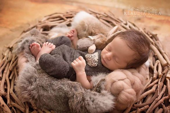 73. Newborn Romper