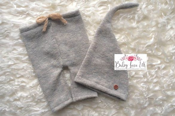 84. Newborn Pants And Hat Set
