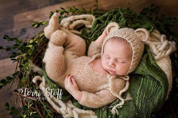 85. Newborn Real Wood Nest 3 Prop