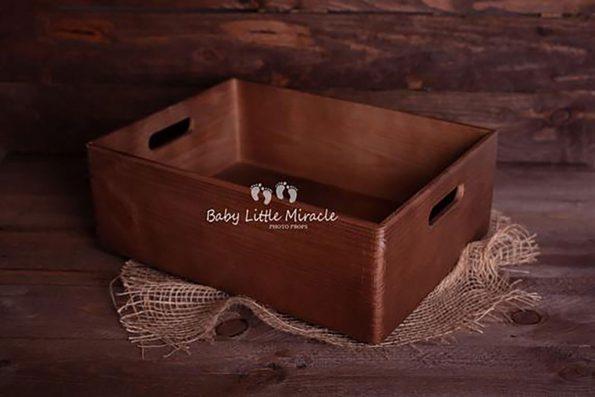 89.newborn Wooden Box Prop